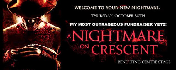 Nightmare On Crescent Fundraiser for Centre Stage